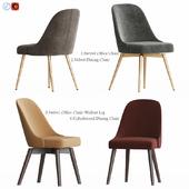 West Elm Mid-Century Chair set