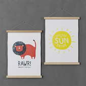 Picture H&M Home (Rawr and Sunshine)