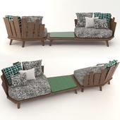 Ethimo outdoor decor | Rafael | Garden furniture set