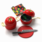 Kitchen_Tomato_set