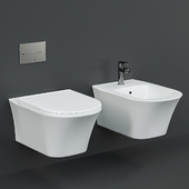 Antoniolupi Cabo Wall-Hung WC and bidet