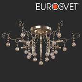 ОМ Потолочная люстра с хрусталем Eurosvet 10042/12 Vita