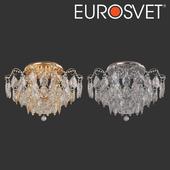ОМ Потолочная люстра с хрусталем Eurosvet 10081/6 Crystal