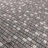 Old stone paving / Старая каменная брусчатка