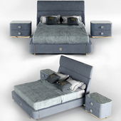 Giorgio Collection Charisma Fully upholstered bed