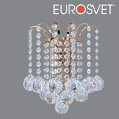 ОМ Бра с хрусталем Eurosvet 3299/2 золото Ostiniya