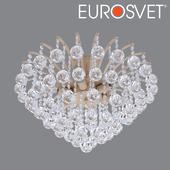 ОМ Люстра с хрусталем Eurosvet 3299/6 белый с золотом Ostiniya
