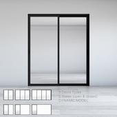 Dynamic Sliding Doors Set 01