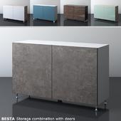 IKEA BESTA storage combination with two doors
