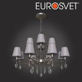ОМ Подвесная люстра с хрусталем Eurosvet 10089/12 Aurelia