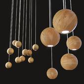 Lofter Wooden Sphere