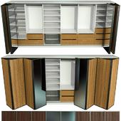 Wardrobe, wardrobe, folding doors