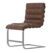 RH - Oviedo Leather Side Chair