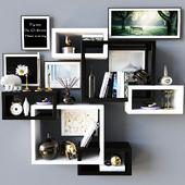 Storage Decoration Wall 04