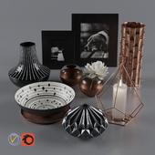 Decorative set 1 by Kelly Hoppen