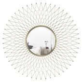 Pinner Decorative Sunburst Accent Mirror