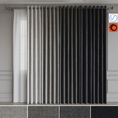 A set of curtains on the rings 19. Gray gamma