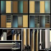 Гардероб, шкаф купе, раздвижные двери