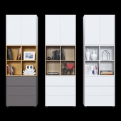 Cabinets IKEA Eket (6 color options).