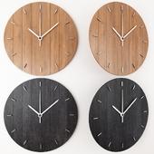OVAL minimalist wall clock