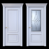 Дверь Белоравуд АРТ2 Белая