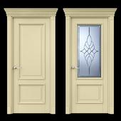 Дверь Белоравуд АРТ2 Слоновая кость