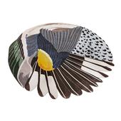 CC-Tapis Feathers Round Carpet