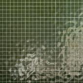 Tiles set Geometry Pattern Green - Square