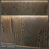 Parametric wall panel