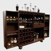 Vodka Bar Cabinet