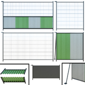 Fence, Fencing for building, plot