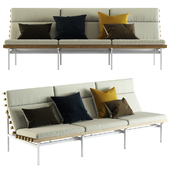 Blu Dot / Perch Outdoor 3 Seat Sofa