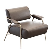 Potocco Stay lounge armchair