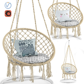 Ohuhu Hanging Hammock Swing Chair