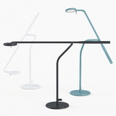 Flow table lamp