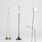 Tempo floor lamp by Atelier de troupe