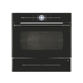 Compact oven combined with microwave Elements by ASKO OCM8478G + dish heater Elements by ASKO ODW8128G