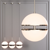 Restoration Hardware HEMISPHERE PENDANT Nickel