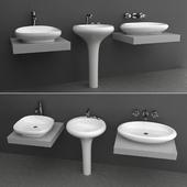 Wash basin set 6