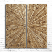 Wood paneling 86