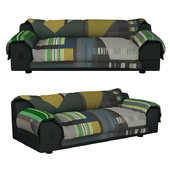 VITRA vlinder sofa dark greens
