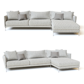 Moroso 3-seater Gentry Sofa