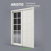 OM Sliding doors ARISTO, Ivoire, Yv.90.3, Yv.90.2