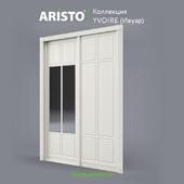 OM Sliding doors ARISTO, Ivoire, Yv.90.4, Yv.90.5