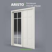 OM Sliding doors ARISTO, Ivoire, Yv.90.6, Yv.90.5