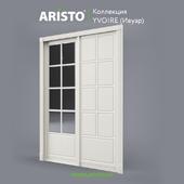 OM Sliding doors ARISTO, Ivoire, Yv.90.8, Yv.90.7