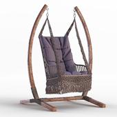 Подвесное плетеное кресло качели BestaFiesta