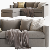 Crate & Barrel_Track Arm sofa_Barrett Lounger