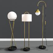 Modern Floor Lamps Set 06