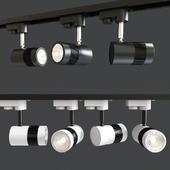 Glitz Neutral White Black Body LED Spot Track Light